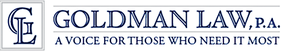 Goldman Law, P.A. Motto